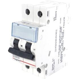 Выключатель автоматический Legrand TX3 2 полюса 10 A