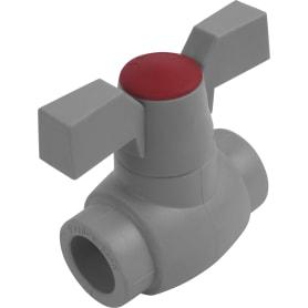 Кран ⌀20 мм FV-PLAST полипропилен
