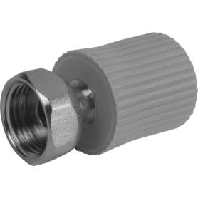 """Соединитель ⌀20 мм х 1/2"""" FV-PLAST полипропилен"""