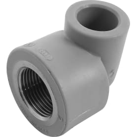 """Угол 90° ⌀20 мм х 3/4"""" FV-PLAST ВР полипропилен"""