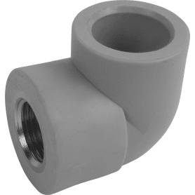 """Угол 90° ⌀25 мм х 1/2"""" FV-PLAST ВР полипропилен"""
