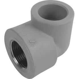 """Угол 90° ⌀25 мм х 3/4""""FV-PLAST ВР полипропилен"""