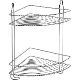 Полка для ванной комнаты Verran угловая металл