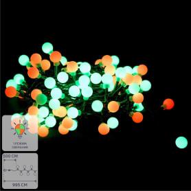 Электрогирлянда-шнур «Шары» 100 ламп, для улицы