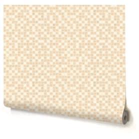 Обои виниловые Палитра Small Tile бежевые 0.53 м 1357-21
