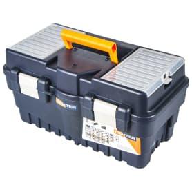 Ящик для инструмента Dexter Formula A Alu500 462х242х256 мм, пластик, цвет синий
