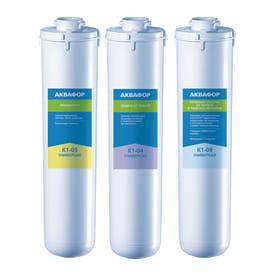 Набор картриджей Аквафор Универсал 05-04-08 для жёсткой воды