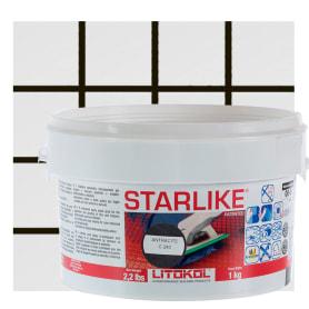 Затирка эпоксидная Litochrom Starlike C240, 1 кг, цвет чёрный