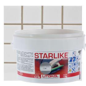 Затирка эпоксидная Litochrom Starlike C280, 1 кг, цвет серый
