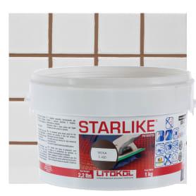 Затирка эпоксидная Litochrom Starlike C420, 1 кг, цвет мокко