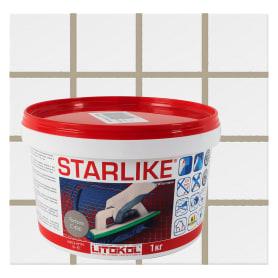 Затирка эпоксидная Litochrom Starlike C490, 1 кг, цвет серо-бежевый