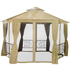 Набор для павильона «Антрацит»: штора, сетка, тент, цвет бежевый