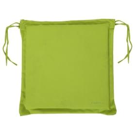 Подушка для стула зелёная 43х43 см, полиэстер