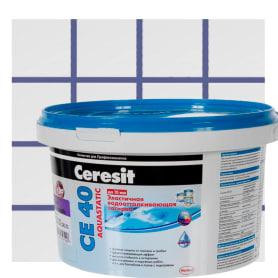 Затирка цементная Ceresit CE 40/2 водоотталкивающая цвет фиалка