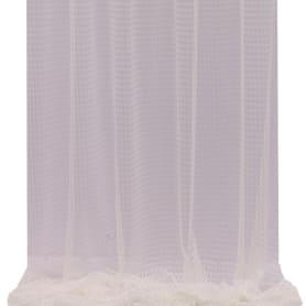 Тюль «Круги» 1 п/м 300 см сетка цвет экрю