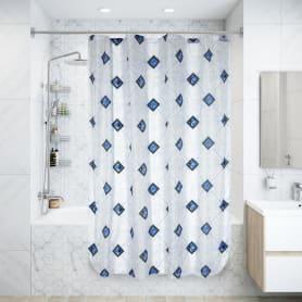 Штора для ванной комнаты 170х180 см цвет в ассортименте