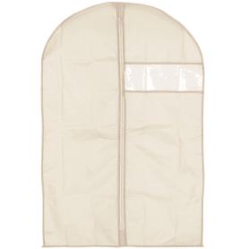 Чехол для одежды Spaceo 60х90 см цвет бежевый