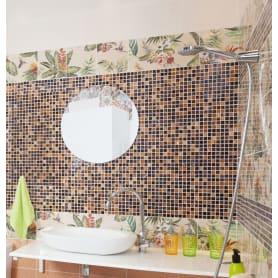 Зеркало без полки круглое  Ø50 см