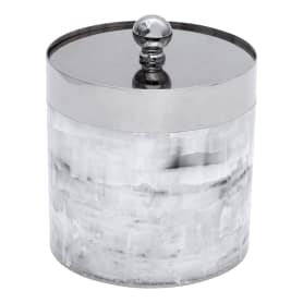 Баночка Allure, полистирол, цвет серый