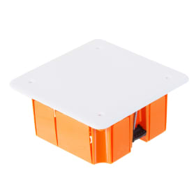Коробка распределительная TDM 92х92х45 мм цвет оранжевый