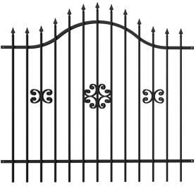 Секция заборная «Аврора» 2x1.9 м