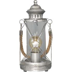 Настольная лампа Bradford 1xE27х60 Вт, стекло, цвет серебро
