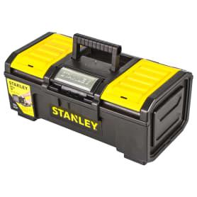 Ящик для инструмента Stanley 390х215х165 мм, пластик, цвет чёрный/жёлтый