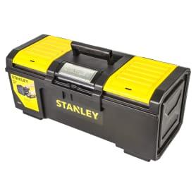 Ящик для инструмента Stanley 280х257х593 мм, пластик, цвет чёрный/жёлтый