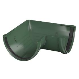 Угол желоба универсальный на 90° цвет зелёный
