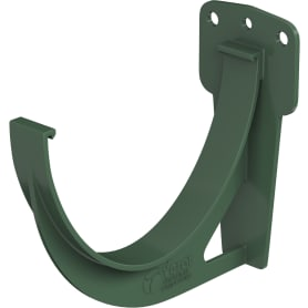 Кронштейн для желоба ПВХ цвет зелёный