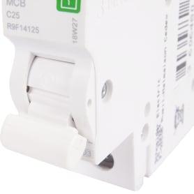 Выключатель автоматический Schneider Electric Resi9 1 полюс 25 A