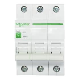 Выключатель автоматический Schneider Electric Resi9 3 полюса 25 A