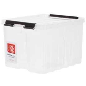Контейнер Rox Box с крышкой 17x14x21 см, 3.5 л, пластик цвет прозрачный