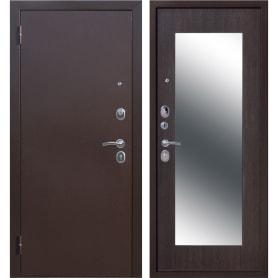 Дверь входная металлическая Царское зеркало Maxi, 860 мм, левая, цвет венге