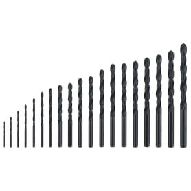Набор свёрл по металлу 19 шт., 1-10 мм