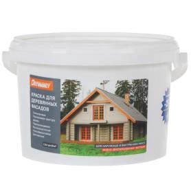 Краска для деревянных фасадов V33 «Оптимист», 2.5 л, цвет прозрачный