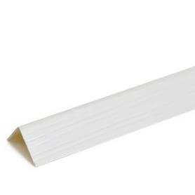 Угол 25x25x2700 мм, цвет белый ясень