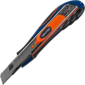 Нож Dexter 18 мм, прорезиненная ручка