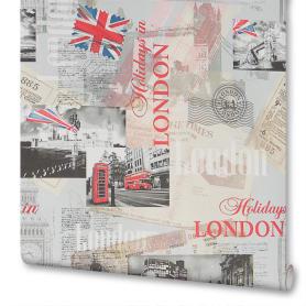 Обои бумажные на флизелиновой основе Московская Обойная Фабрика Лондон 0.53 м 271242-1