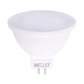 Лампа светодиодная Wolta спот GU5.3 7 Вт 600 Лм свет тёплый белый