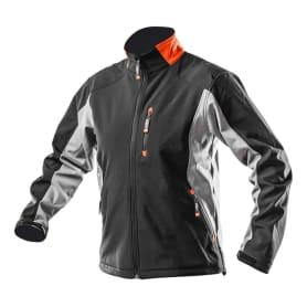 Куртка Softshell водо- и ветронепроницаемая размер L(52) цвет чёрный