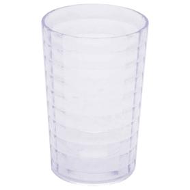 Стакан для зубных щёток настольный Vidage «Корбу» пластик цвет прозрачный