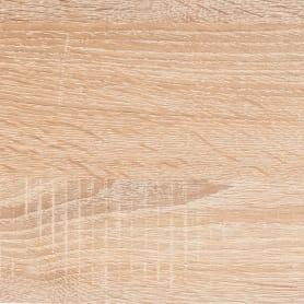 Деталь мебельная 800х200х16 мм ЛДСП, цвет дуб сонома, кромка со всех сторон