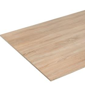 Деталь мебельная 2700х900х16 мм ЛДСП, цвет дуб сонома, без кромки