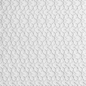 Плитка потолочная бесшовная полистирол белая Формат Гейша 50 x 50 см 2 м²