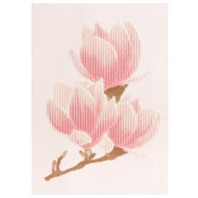 Вставка «Агата D» 25х35 см цвет розовый