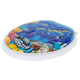Сиденье мягкое для унитаза «Рыбки»
