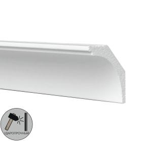 Плинтус потолочный полистирол ударопрочный Decomaster D109 белый 4.3х6х200 см