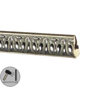 Молдинг настенный полистирол Decomaster 103С-59 серебристый 1х2х200 см