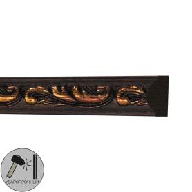 Молдинг настенный полистирол Decomaster 130-966 коричневый 1х1.7х200 см
